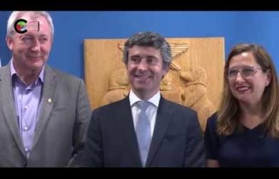 Visita do Secretário de Estado das Comunidades Portuguesas e Assinatura do Memorando de Cooperação com a Cãmara de Toronto