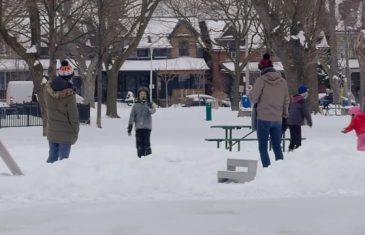 CAMOES TV - Dovercourt Hoses Natural Ice Rink 2021